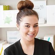 Ruby Wilson, beauty specialist