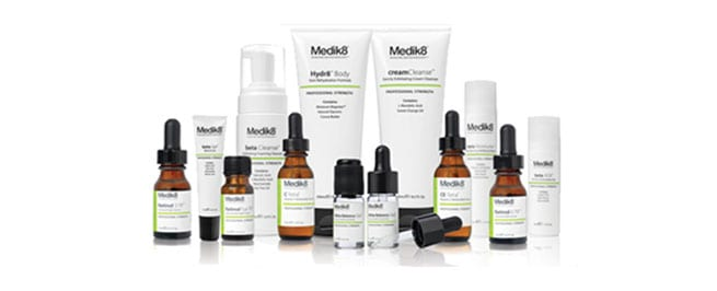 Medik8 skin peel products